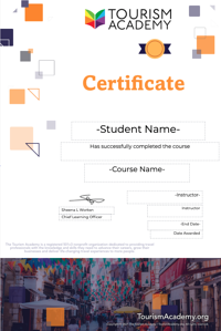 Certificate of Completion Sample